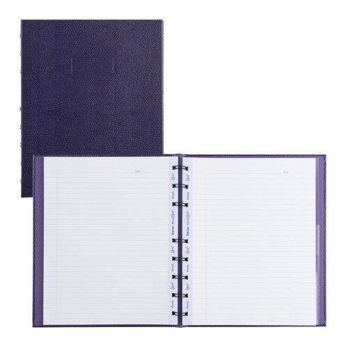 - Blueline MiracleBind Notebook, Purple, 9.25 x 7.25 inches, 150 Pages (AF9150.44)