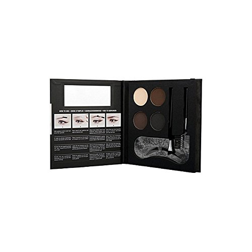 Nyx Cosmetics Eyebrow Kit With Stencil (Pack of 6) - ステンシルと化粧品眉毛キット x6 [並行輸入品] B071H9PRFT