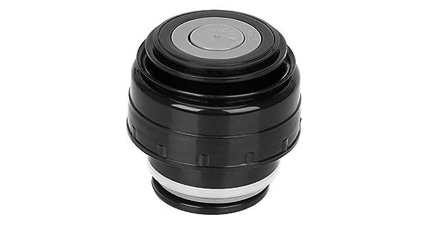 Tapa de la taza de la tapa de los frascos de vac/ío del viaje cubierta universal del termo de la taza para exteriores 4.5cm black red