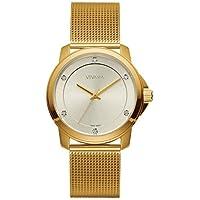 Relógio Vivara Feminino Aço Dourado - DS13694R0A-5