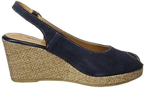 vestir 891 Azul de para Rope mujer cuero Tamaris 29303 Navy Zapatos de P6twqwBSx