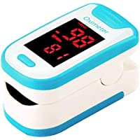 Gaojian Smart Spo2 Finger Pulse Draagbare Huishoudelijke Bloed Zuurstofmeter Hartslagmeter met Automatische uitschakeling en Snel Lezen voor volwassenen en kinderen