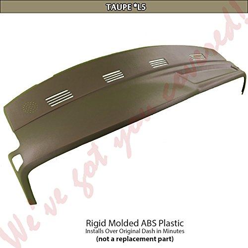 2002-2005 Dodge Ram Dash Skin Cap Cover Overlay (One Piece, Taupe, L5 Trim (Dodge Ram Dash Trim)