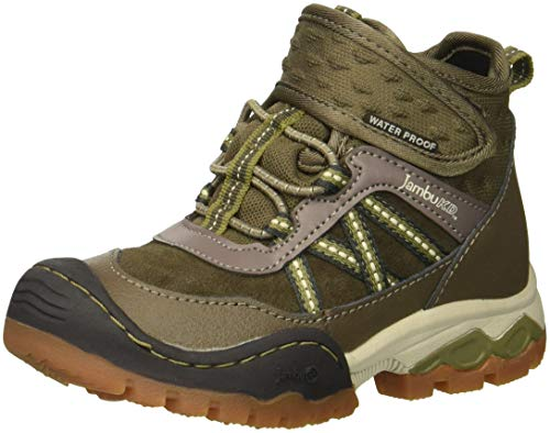 Jambu Boys' Cypress Sneaker, Brown, 13 M US Little Kid