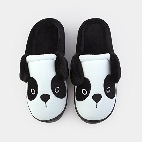 rimanere DogHaccd scarpe chiaroRosa femmina caldo paio Rosa pantofole invernali graziosa di spessa chiaro in di pantofole lana Home cotone di cartoon chiaro2 Blu piscina pantofole 7v1wrP7