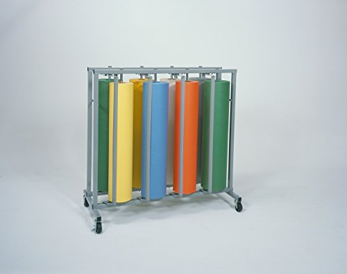 Vertical Dispenser Rack for Eight Paper Rolls - 36