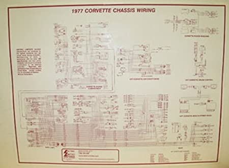 Amazon Com 1977 Corvette Wiring Diagram Automotive
