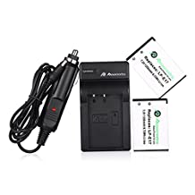Powerextra 2 Pack Replacement Canon LP-E17 Battery High Capacity 1350mAh With Charger for Canon EOS M3, EOS Rebel T6i, EOS Rebel T6s, EOS 750D, EOS 760D, EOS 8000D, Kiss X8i Digital SLR Camera