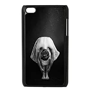 Dancing girl DIY Cover Case with Hard Shell Protection for Ipod Touch 4 Case lxa#859653