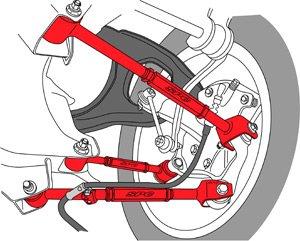 Rear SPC  Performance SPE67540   67540 Adjustable Control Arm