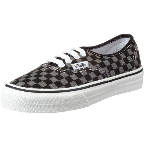 Vans - Zapatillas de tela para niños Negro (Schwarz ((Smallcheck)Blk))