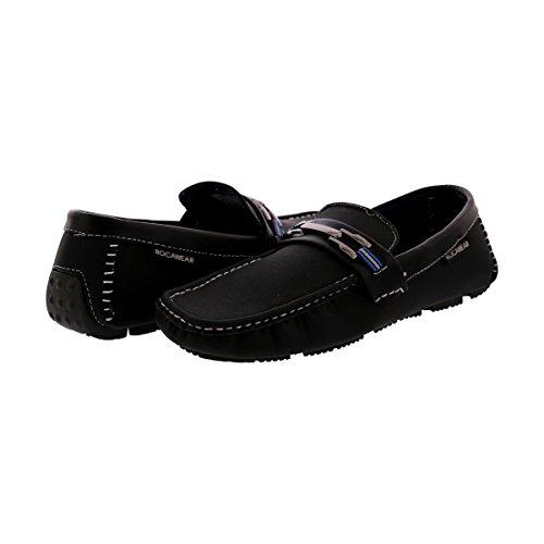 Rocawear - Zapatillas Para Hombre Con Hebilla - Negro / Azul