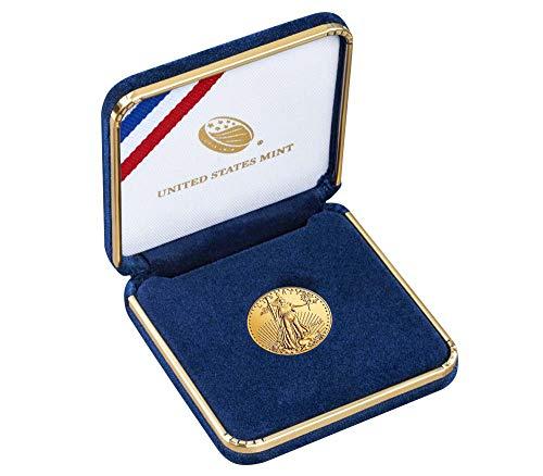 2019 American Eagle 1/10 oz Fine Gold Bullion 5 Dollars Uncirculated