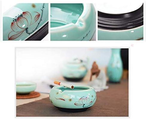 葉巻灰皿, 灰皿儀式儀式ハンドペイント式典セラミック茶道アクセサリー