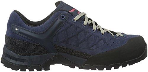 Salewa Unisex-adult Trektail Gore-tex Halbschuh Trekking & Wandelen Lage Schoenen Blauw (dark Denim / Mineraal Rood 0356)