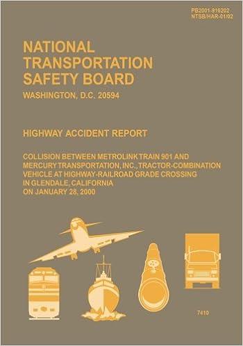 Highway Accident Report: Collision Between Metrolink Train