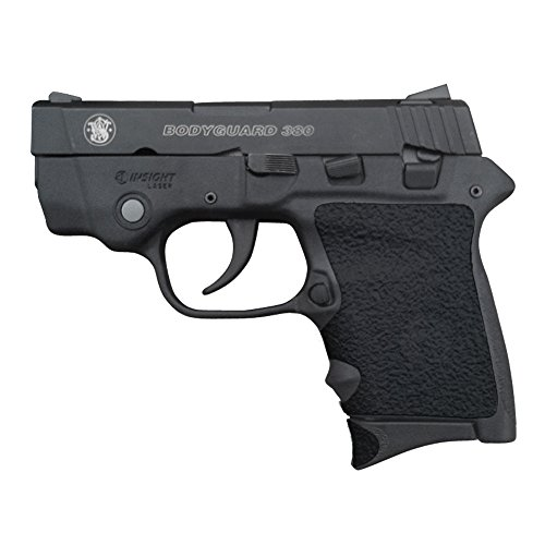 Traction Grip Overlays in black for Smith and Wesson Body Guard 380 pistols](Bodyguard 380 Grip)