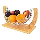 Quadrato Fruit Bowl 24cm Black