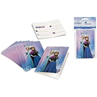 Disney Frozen, 71913, Pack 10 Invitaciones Frozen,