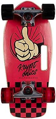 Kryptonics Stubby 19 Inch Complete Skateboard