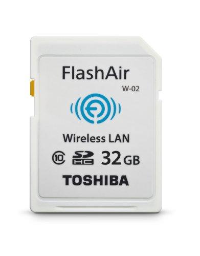 Toshiba Sd Card Digital Camera (Toshiba Flash Air II Wireless 32GB SDHC Memory Card (PFW032U-1BCW))