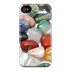 High-quality Durability Case For Iphone 4/4s(colored River Stone)