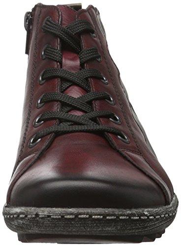 6 Remonte Wine Zipper Chestnut Boots Dorndorf Womens Size vino Antik Havanna 8vdqEw