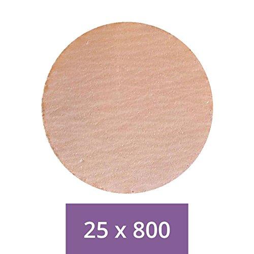 con velcro Papeles de lijar 1/bolsita de 25/piezas Poly-Fast grano 800