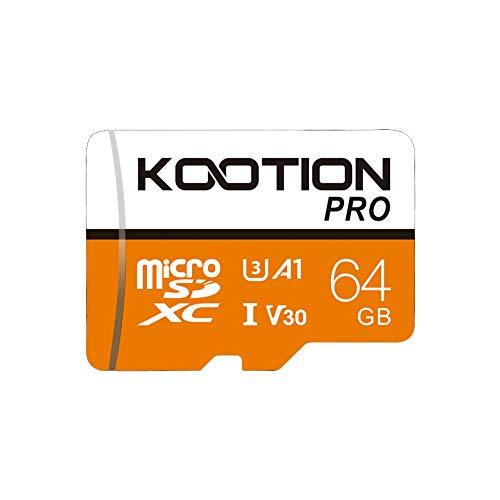 64GB Micro SD Card Ultra Micro SDXC Memory Card 64 GB U3 Class 10 High Speed TF Card R Flash, C10, U3, 64 GB