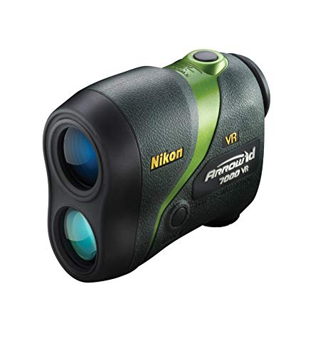 Nikon Arrow ID 7000 VR Bowhunting Laser Rangefinder, Green - 16211 from Nikon