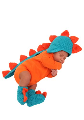 Toddler And Kids Spike The Dragon Costumes (Princess Paradise Baby's Dash The Dragon Hat and Booties, As Shown, 0/3M)