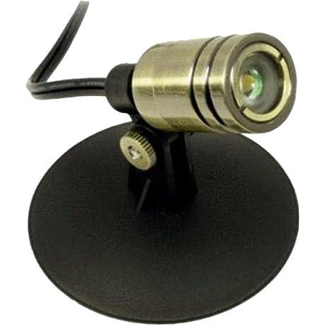 Aquascape 98926 12 Volt LED Compact Bullet Spotlight 1 Watt Bronze Discontinued By Manufacturer