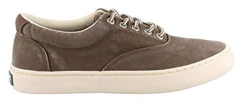 eb96c17472e Sperry Men s Cutter CVO Saltwash Chocolate 9.5 M (Saltwash Canvas)