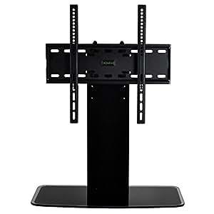 """DQ Soporte de TV Estándar Negro - Soporte de mesa - Embalaje original - Recomendada TV de tamaño: 32"""" - 55"""" (82 - 140 cm) - VESA 200x100 200x200 200x300 300x300 400x200 400x400 600x200 600x400 Non-VESA mm"""