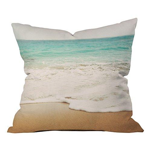 - Deny Designs Jacqueline Maldonado Mirror Dye Blue Outdoor Throw Pillow