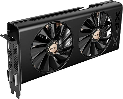 XFX RX 580 8GB Retro DD Edition DDR5 3xDP HDMI DVI Graphics Card RX-580P8RFD6