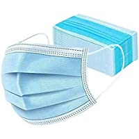 Masks,3-Ply Ear Loop,Disposable Face Mask Safety Mask Dust for Medical Dental Salon and Personal Health(50 pcs) 5~8days…