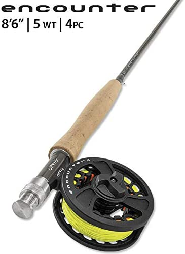 Orvis Encounter 5-Weight 8 6 Fly Rod Outfit
