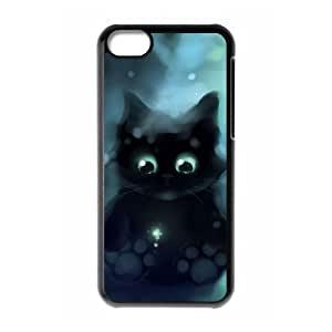chen-shop design Cell phone Iphone 5C Protection Cover Hard Case Of Cat high XXXX