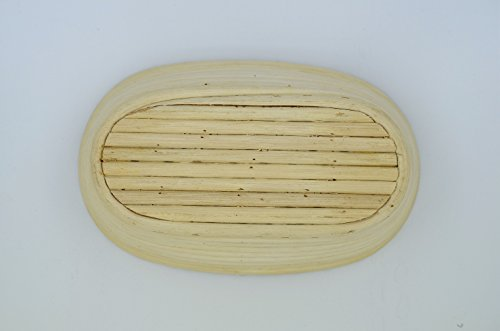 2 Pcs Masterproofing Oval Banneton Proofing Basket(500g Dough)