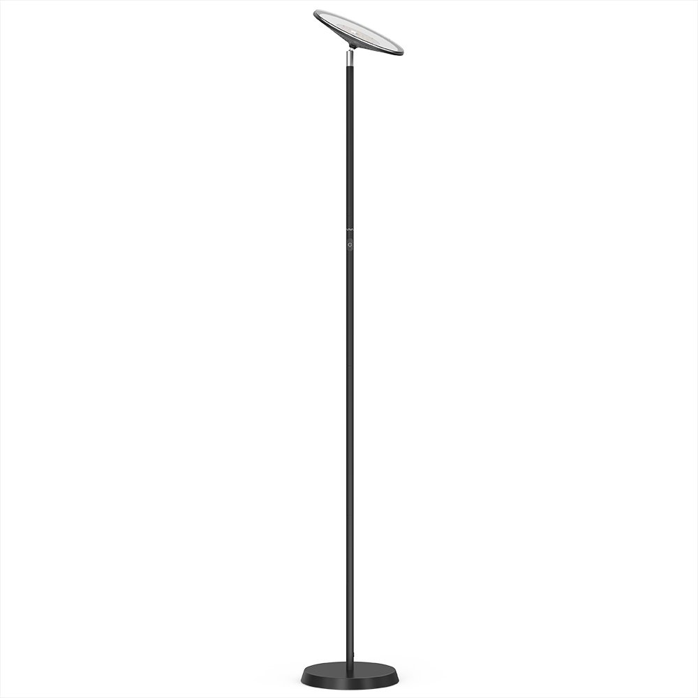 VAVA LED Torchiere Floor Lamp for Living Room