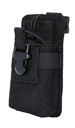 (Clakit StrapPack Clip-On Pouch for Radio & GPS (Black) Backpack Attachment for Hunters, First Responders, Public Safety, Hikers and Travelers)