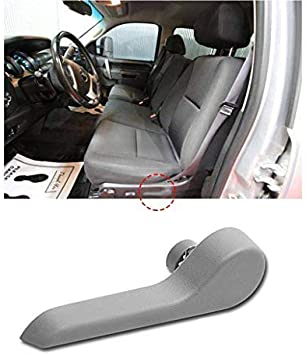 fits GMC Chevy Inside Seat Back Recliner Adjustment Handle Passenger Front Gray