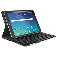 "Logitech Type-S Wireless Keyboard Folio Case Samsung Galaxy Tab A 9.7"" SM-T550, Black (920-007546)"