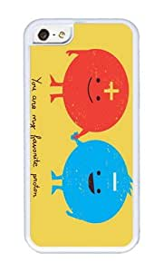 Apple Iphone 5C Case,WENJORS Personalized You are my favorite proton Soft Case Protective Shell Cell Phone Cover For Apple Iphone 5C - TPU White