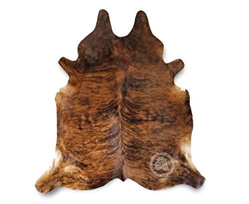Brindle Cowhide Rug Approx Size 6ft x 8ft 180 cm x 240cm - Argentina