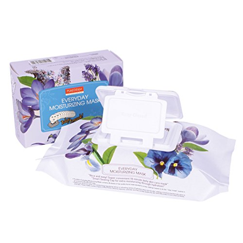 Purederm Everyday Facial Moisturizing Masks with Hyaluronic