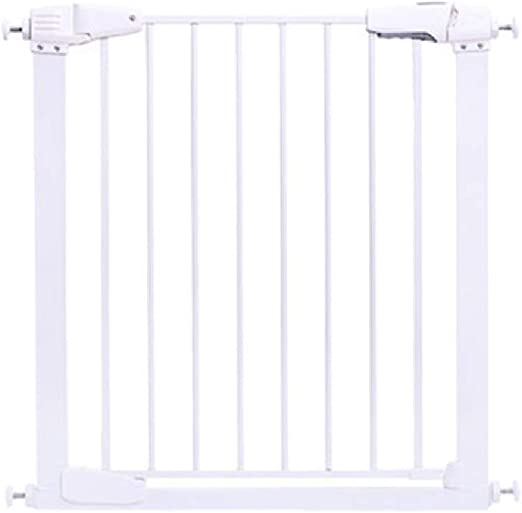 Pare la puerta de la escalera Puerta de la escalera extensible, sin taladrar, cierre automático fácil y abierto, apto para escaleras, cocina, sala de estar, balcón (Size : 65 * 76cm): Amazon.es: Bebé