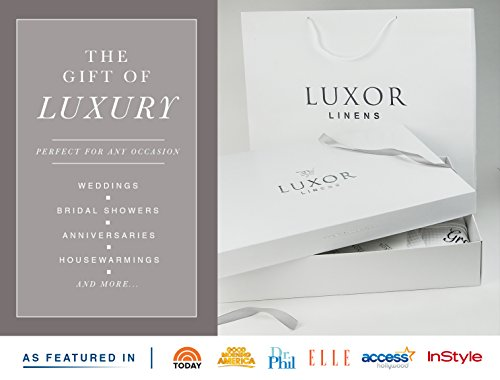 Luxor Linens Waffle Weave Spa Bathrobe - Ciragan Collection - Luxurious, Super Soft, Plush & Lightweight - 100% Egyptian Cotton, Made in Turkey (Single Robe With Gift Packaging, No Monogram) by Luxor Linens (Image #2)
