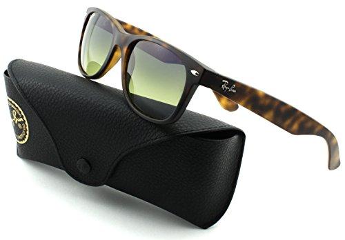 Ray-Ban RB2132 New Wayfarer Unisex Sunglasses (Matte Havana Frame/Blue/Green Polarized Lens 894/76, - New Ban Polarized Rb2132 Ray Sunglasses 76 894 Wayfarer